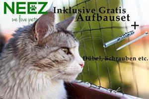 Filet de chat 3×8 mètres pour le balcon Filet de protection transparent pour le filet Pigeon net