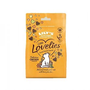 Lily's Kitchen Delicious Chicken Little Lovelies Treats for Cats (12 x 60g) – (PACK OF 2)