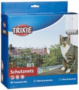 Trixie – 44343 – Filet de protection – Transparent – 8 x 3 m
