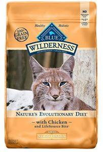 Blue Buffalo Wilderness haute Protéine de croquettes pour chats adultes