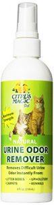 Citrus Magic Pet Natural Urine Odor Remover Spray, 8-Ounce by Citrus Magic
