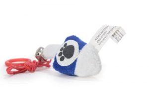 Copa œil Chewish Treat Dreidel jouet pour chat en peluche, 3par 0,5par 3,8cm, Bleu et blanc
