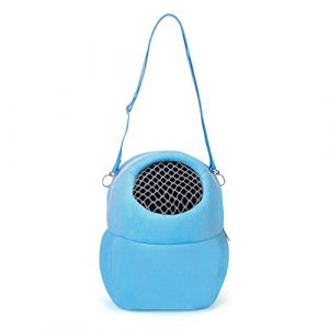 Espeedy Mini doux Petit Animal domestique Hamster Hérisson Bunny Sac de transport Portable Sacs à bandoulière