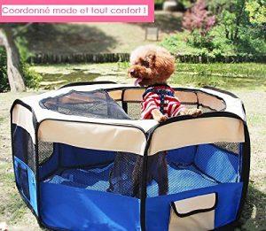 celldeal pliable en tissu pour animal Play Pen chiot Chien Chat Cage pour lapin/cochon