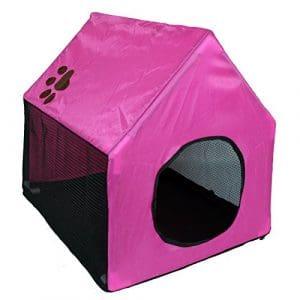 Pour Animal domestique Ting Chien et Chat Tente Portable Intérieur et d'extérieur Sol de maison avec fermeture Éclair