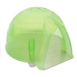 Alfie Pet par petoga couture–Igloo Petit Animal jouet Lit de refroidissement (pour souris et hamster nain)–Couleur: Vert clair