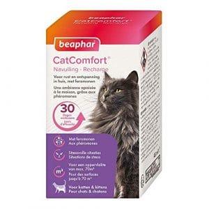 Beaphar – Catcomfort, Recharge anti stress aux Phéromones – Chat – 1 recharge de 30 jours