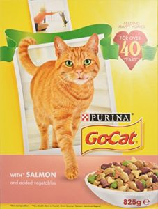 Go-Cat Salmon and Vegetable 825 g, Pack of 5