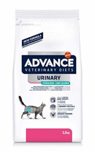 Advance Veterinary Diets Urinary Low Calorie Croquettes pour Chat Adulte 2,5 kg