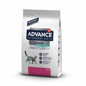 Advance Veterinary Diets Urinary Low Calorie Croquettes pour Chat Adulte 7,5 kg
