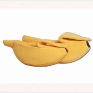 AYES Lit Banane Mignon pour Animal Domestique Doux et Confortable pour Chien et Chat