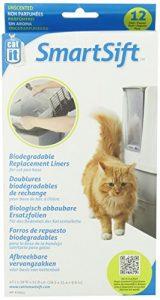 Catit Litière pour Chats Sac Biodégradable 12 Pièces