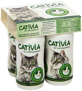 Cativa Lait pour chat 4 x 95 ml