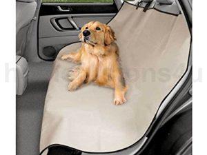 Generic qy-uk4–16feb-20–784* * * * * * * * 1* * * * * * * * * * * * * * * * 2684* * * * * * * * * * * * * * * * Pour Chien Imperméable BA voiture Siège arrière pour voiture 2en 12en 1Housse de hamac Premium Beige Beige R Protection d'écran mmock Premium Beige