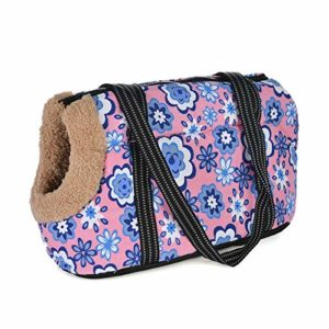 IWEMJJ Sac For Animaux De Compagnie Confortable Sac Souple For Animaux De Compagnie Chien Sac À Dos Chiot Animal De Compagnie Sac À Bandoulière Chat Voyage En Plein Air Sling Chiot Chihuahua Fournitur