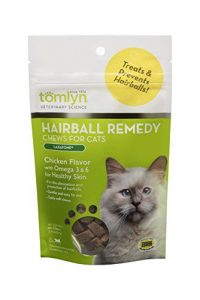 Tomlyn Naturel Hairball Remedy à mastiquer pour Chats, (Laxatone) 60 à mastiquer