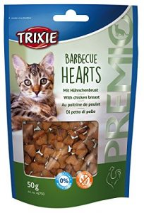Trixie PREMIO Barbecue Hearts pour chat 50 g