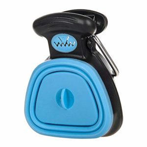 ADDG Dog Pet Voyage Pooper Scooper Scoop Clean Pick-Merde Cleaner Up excréta,Bleu