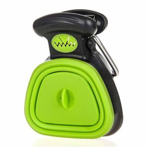 ADDG Dog Pet Voyage Pooper Scooper Scoop Clean Pick-Merde Cleaner Up excréta,Vert