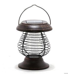 Bug Zapper Portable Solaire Énergie Mosquito Tueur Lampe Jardin Paysage Lumières Mouche Bug Insectes Tueur Bug Zapper Pour La Maison Jardin Extérieur