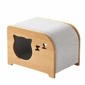 QNMM Fashion Cat Cat Furniture Cube et Repose-Pieds pour lit de Chien ou de Petit Chien à usages Multiples Simple, Convenant aux Petits et Moyens Animaux de Compagnie pour Se Reposer