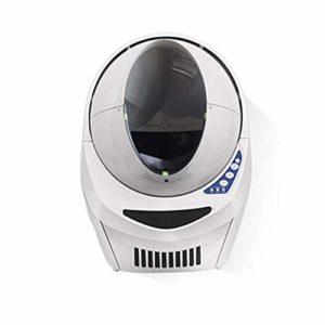 SPET Bac à litière Automatique pour Chat avec Grand déodorant Anti-éclaboussures