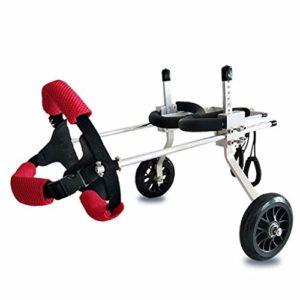 SUK Chien en Fauteuil Roulant Hind Membre paralysie handicapé Chien Chien de Jambe arrière Assistant Scooter pour Animaux Chien Fournitures auxiliaire