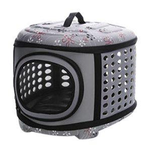 Txxci Mode pliable portable EVA Sac de transport pour animal extérieur Voyage Sac à main pour animal domestique chenil maison pour chien pour chats