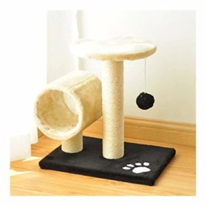 YLLYLL Arbre à Chat Cat Activity Center avec Chanvre-Corde-Enveloppé Scratching Post et Dome Hideaway Scratch Poster Pet Furniture (Color : #6)