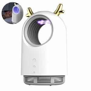 ZHANGLE Répulsif Anti-moustiques, avec USB + Prise Anti-Moustique Domestique, Lampe Anti-Moustique nettoyable sans Bruit pour cafards, moustiques, Souris,Blanc