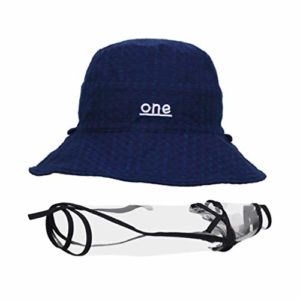 Artibetter – Protection complète contre la salive – Coupe-vent et anti-poussière – Protection complète – Chapeau de pêcheur – Rouge