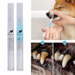 Asamio Lot de 3 outils de nettoyage des dents de chien pour animaux domestiques