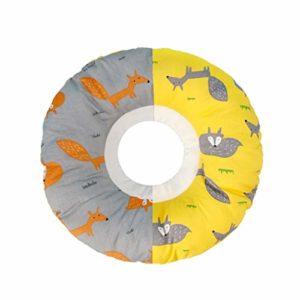 Collier de récupération pour animaux de compagnie Capuche en tissu col chat Collier chat doux chat animal dommage cercle animal de compagnie de chat de récupération Collier Collier de chat Collier de