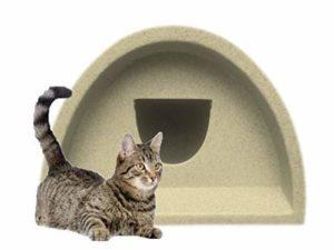 Cosy Cages Ltd–Abri d'extérieur pour chien/chat Marron (rond): 48€