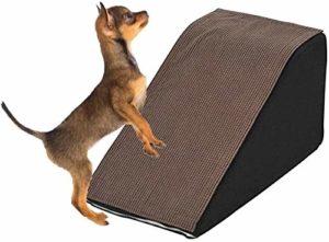 Wxxdlooa Animaux Escaliers, Arbre Escalade Animaux Petit Chien Rampe légère antidérapante Bas Lavable Escalade Intérieur Extérieur échelle auxiliaire biseautés
