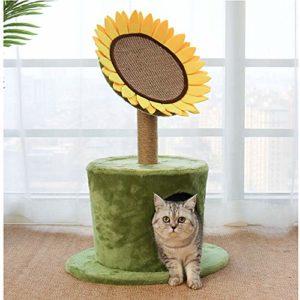 Cat Scratcher Cardboard, Cat Scratching Pad Ondulé Sofa Lounge with Catnip, Cat Scratch Lounge Scratching Bed with Catnip, Scratch Surface and Catnip Teaser Training Toy