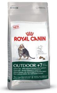 Crown Pet Foods Royal Canin Mélange Sec pour Chat âgé 7 +