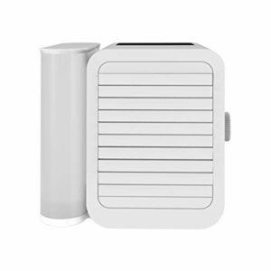 DFSSD Bureau du Ventilateur de Refroidissement, d'air Portable Cooler, USB Silencieux Personal Air Cooler, 1000 ML Grand Réservoir d'eau, Stepless Régulation de Vitesse, synchronisation Fonction