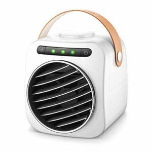 DFSSD Bureau Portable Ventilateur de Refroidissement, USB Espace Personnel du Ventilateur de Refroidissement, de réfrigération Petit Ventilateur, 350ml Réservoir d'eau, 3-Vitesse réglable