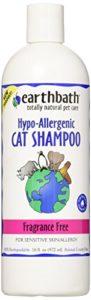 Earthbath Shampooing pour Chat, hypoallergénique sans Parfum, 472ML