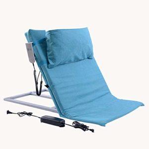 HHORD Électrique Dossier sur Le Lit, Une Aide pour Get Up The Body Electric, Sit-Ups Portable Réglable,Bleu