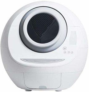 KYLL Automatique Litière Intelligente Boîte, Toilettes Automatique Cat entièrement fermée, Suppression Automatique Odeur Anti-éclaboussures à Faible Bruit, Facile à Nettoyer, 65 * 63 * 66cm