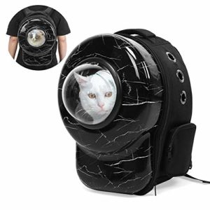Liukouu Pet Backpack, New Portable Small Dog Cat Pet Puppy Animal Carrier Outdoor Space Backpack Sac à bandoulière de Voyage(#1)