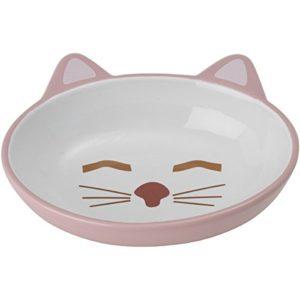Petrageoussleepy Kitty Ovale Soucoupe, Rose, 150,3Gram