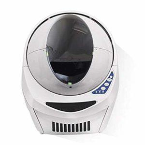 Wen Ying Toilettes automatiques for chat Toilettes intelligentes for chats Toilettes électriques for animaux de compagnie Toilettes for grands animaux domestiques Splash et désodorisant Litière pour c