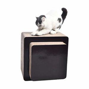 AmazonBasics Banquette griffoir pour chat – Carré, Grand