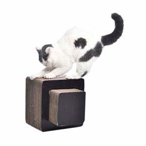 AmazonBasics Banquette griffoir pour chat – Carré, Petit