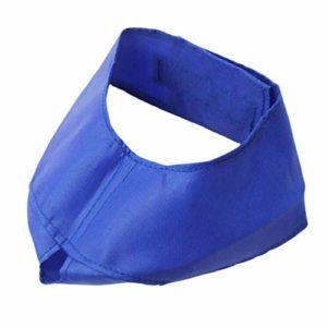 Balacoo Cache-Oeil pour Chat Oeil Couverture pour Chien Ombrage pour Le Toilettage Anti Voiture Maladie (Bleu Taille M Adapté Aux Chats 2. 5-5 Kg)