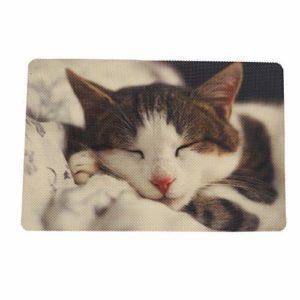 Minjie Coussin de litière pour Chat et Chat avec revêtement imperméable et Durable pour Animal Domestique en PVC Lavable
