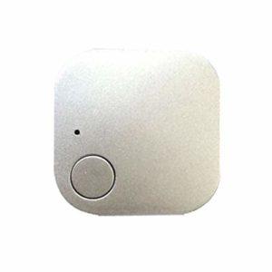 WMPRTT Mini traqueur GPS étanche pour Animaux de Compagnie Chien Chat Clés Portefeuille Sac Enfants GPS Tracker Animaux Finder Équipement (Argent2)